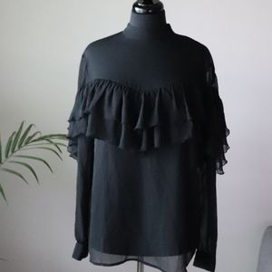 NWT 14th and Union Sheer Blouse